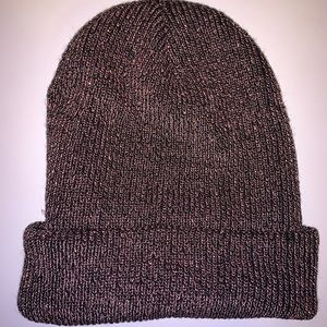 American Eagle sparkle knit beanie NWOT